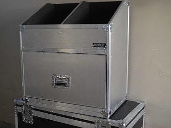 Estuche rigido mamut - rack, anvil, aluminio gofado