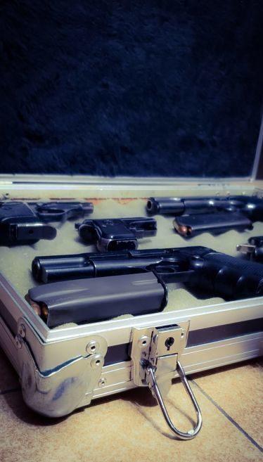 maletin para pistolas
