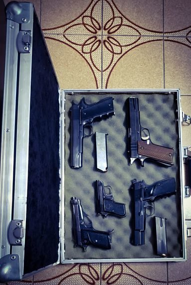 Mamut estuches rígidos, avils, racks - Estuche para armas